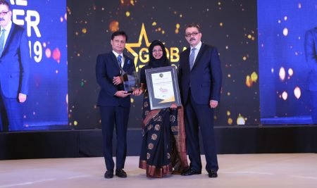 Ms sameeha Abdul Rahman (Chemistry Teacher) recieved the award for Global Teacher Award by AKS EDUCATION AWARDS.. New White house Group. honouring & congragulate her for the dedication,hardwork and efforts for the quality work….