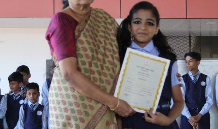 SUGAMA HINDI PAREEKSHA 2019-2020 36 STUDENTS ATTENDED THE EXAM IN OUR SCHOOL RIYA NASARIN – III GOT 2nd RANK