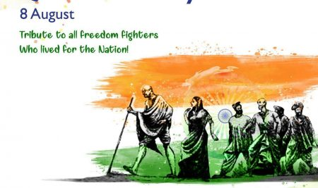 Quit India Day August 8