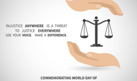 World Day Of International Justice July 17