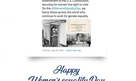 Happy Women's Equality Day