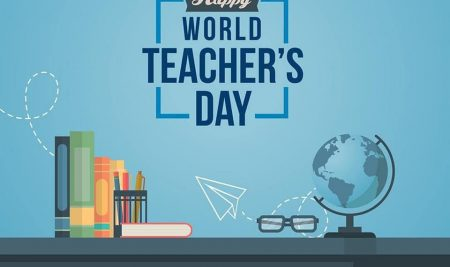 """World Teacher's Day""  #worldteachersday2020 #NewWhiteHouse #karukaputhur #staysafe #stayhome"