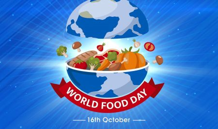 World Food Day is an international day celebrated every year around the world on 16 October in honor of the date of the founding of the Food and Agriculture Organization of the United Nations in 1945.