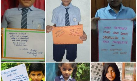 National Unity Day Pledge by Students of New White House International School