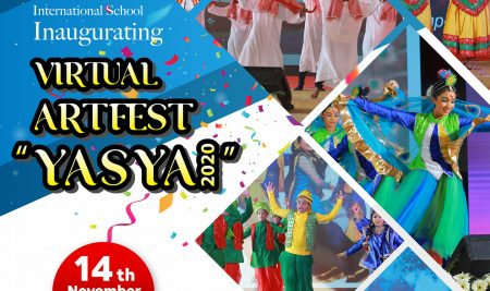 "New White House International School Inaugurating  "" VIRTUAL ARTFEST YASYA 2020 """