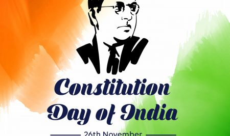 Constitution Day or Samvidhan Diwas is celebrated annually in India on 26 November. The day is also known as National Law Day. The day commemorates the adoption of the Constitution in India.