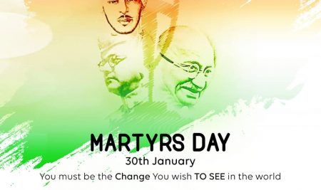 *Martyrs Day in The Memory of MAHATMA GANDHI*